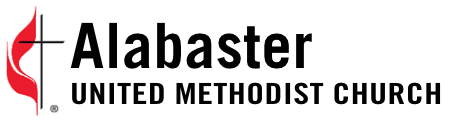 First United Methodist Church Alabaster Footer Logo